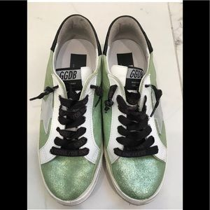 Golden Goose Green May Sneakers Size 38